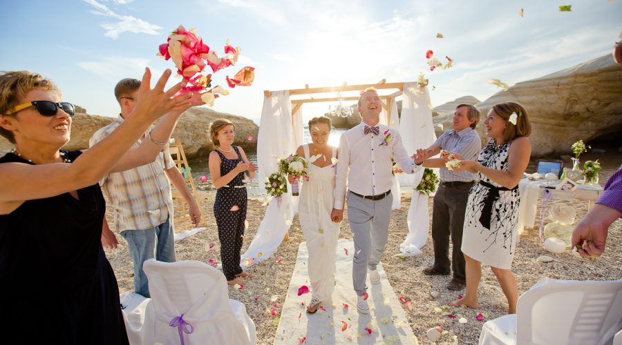 Natalia & Evgeniy Wedding on the Beach